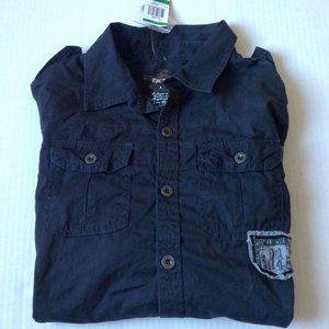 EPIC Threads Boys Black Shirt Size L NEW